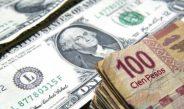 Dólar cae un ligero 0.61% en la barrera de los $22